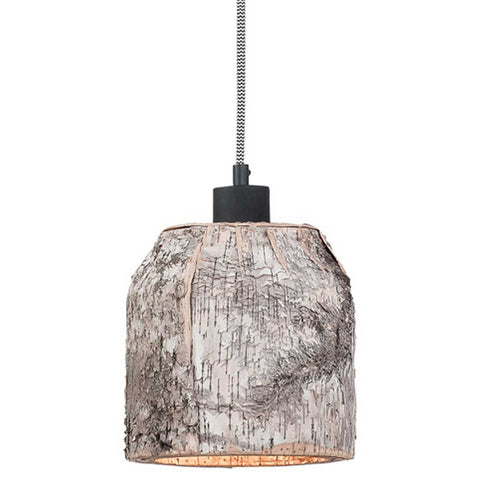 Aspen Natural Birch Pendant Light