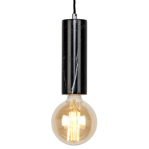 Athens Black Marble Pendant Light