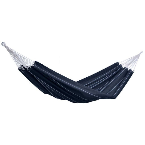 Bohemian Black Barbados Double Hammock
