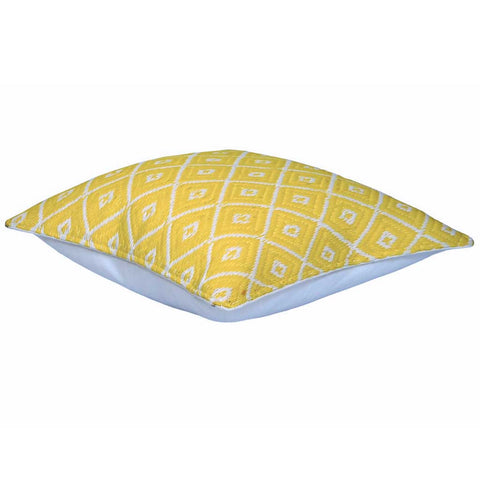 Yellow Arabian Nights Indoor/Outdoor Cushion