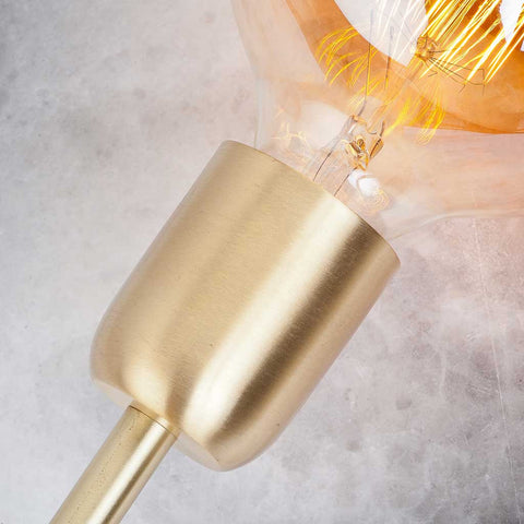 Cannes Iron Large Gold Table Lamp