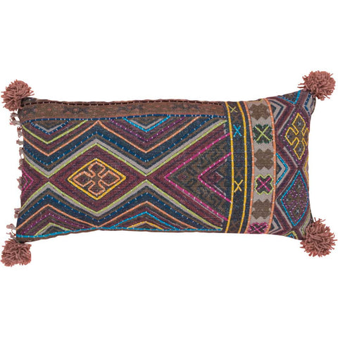 Nima Ikat and Cotton Cushion Cover