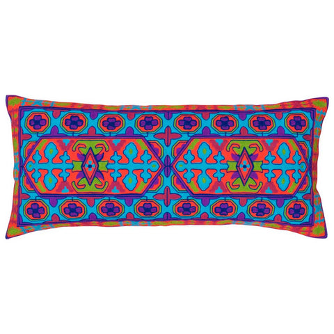 Goa Long Embroidered Cushion Cover