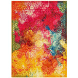 Seaglass Celestial Abstract Rug