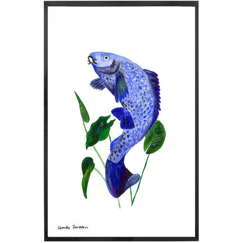 Oceania | Carp Fish Painting | Tropical | Art Print
