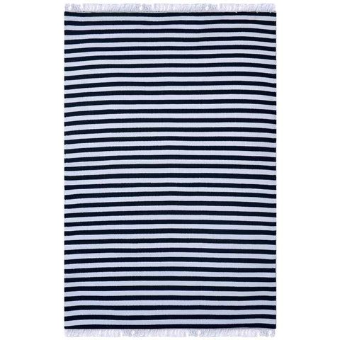 Union Striped Cotton Rug