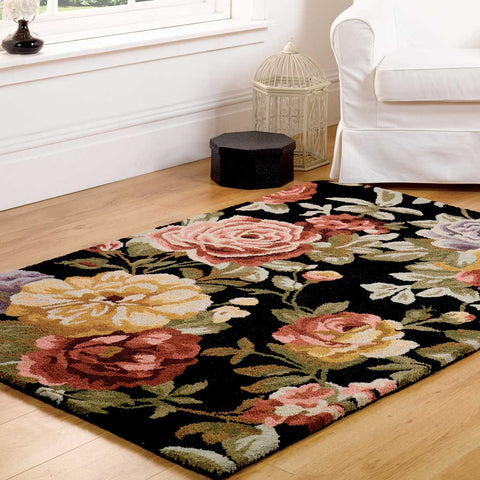 Black Faith Elegance Rug