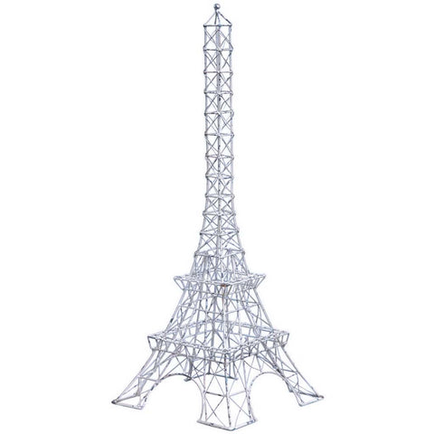 Large Vintage Metal Eiffel Tower
