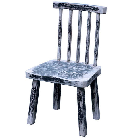 Bohemian Primitive Chair | Antique White