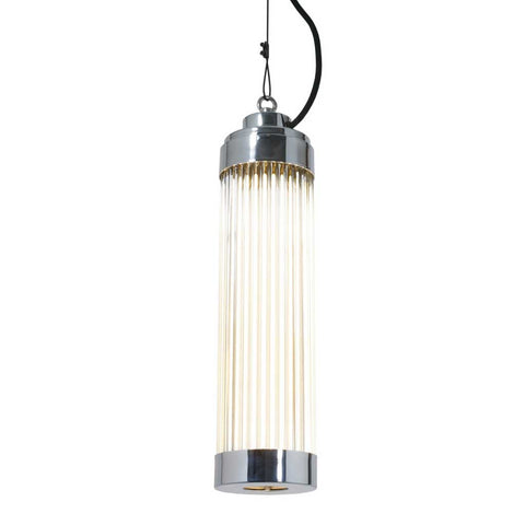 Pillar Pendant Light in Chrome Plated by Davey Lighting