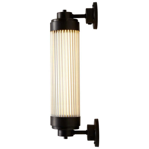 7216 LED Pillar Light in Weathered Brass by Davey Lighting