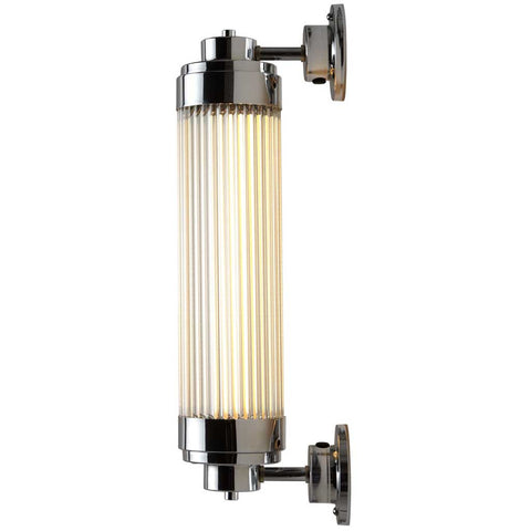 7216 LED Pillar Light in Chrome Plated by Davey Lighting