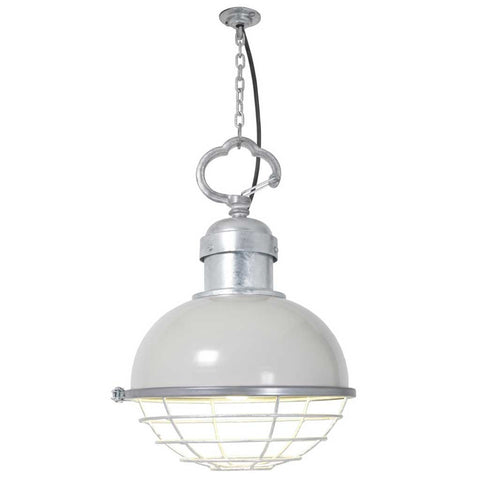 Oceanic Putty Grey Pendant Light by Davey Lighting
