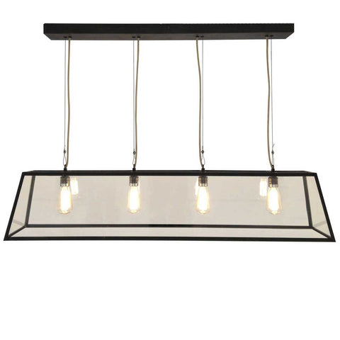 Diner Pendant Light in Weathered Brass by Davey Lighting
