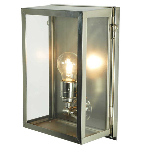 Internally Glazed Wall Light in Satin Nickel by Davey Lighting