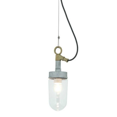 Well Glass Clear Pendant Light by Davey Lighting