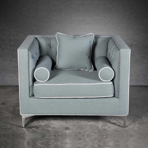 Dorchester Powder Blue Armchair