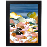 Day On The Rocks Art Print