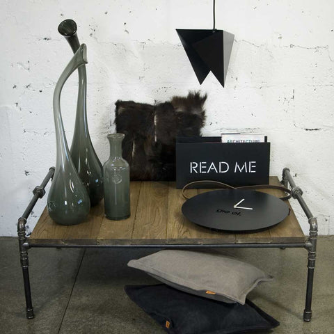 Julia | Coffee Table | Steel and Wood