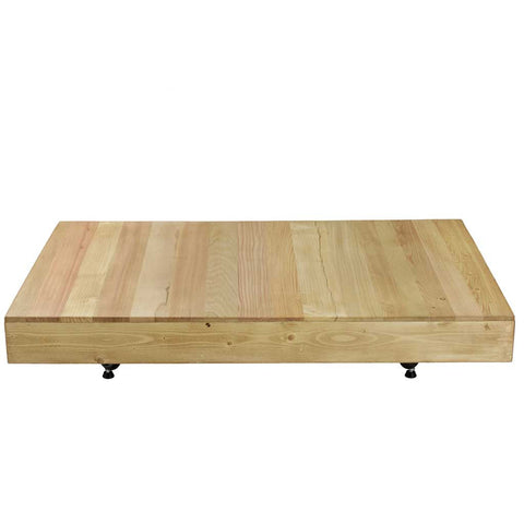 Marni Hand Waxed Wood Low Coffee Table