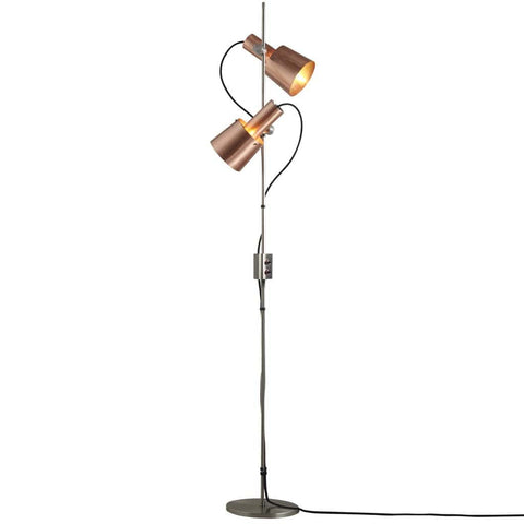 Chester Satin Copper Floor Lamp by Original BTC