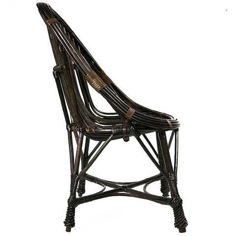 Dark Brown Willow Chair