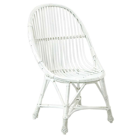 Agatha |  Scandi Boho | White Willow Chair