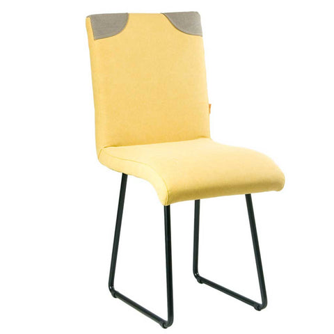 Prado Yellow with Grey Chair