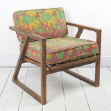 Sheesham and Kantha Khia Armchair