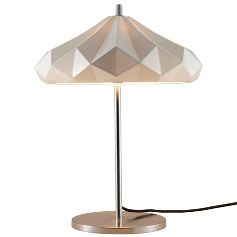 Hatton 4 Bone China and Chrome Table Lamp by Original BTC