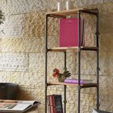 Julia | Bookshelf | 3 shelves | Steel and Wood