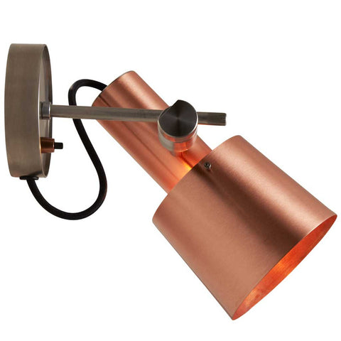 Chester Wall Light in Satin Copper by Original BTC
