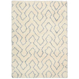 Riff | Rug | Ivory White and Blue | Pattern
