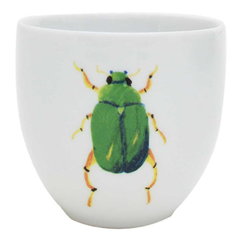 Marco | Tropical | Porcelain Beetle Coffee Cups | Set of 4 or 6