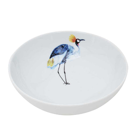 Eloise | Tropical | Porcelain Crane Bowls | Set of 4 or 6