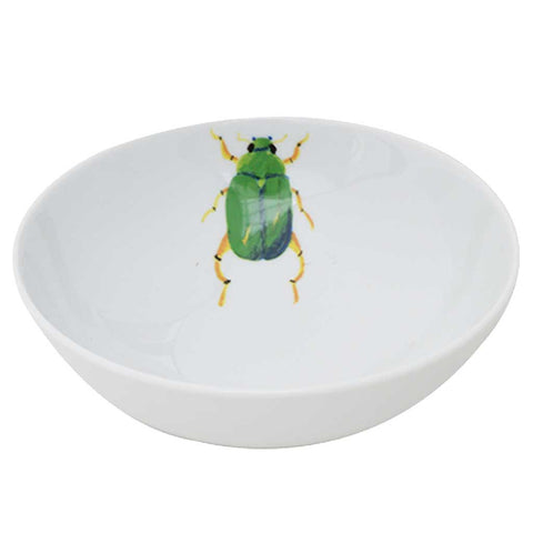 Marco | Tropical | Porcelain Beetle Bowls | Set of 4 or 6