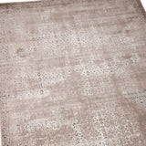 Arabesque Abstract Rug | Ash Grey