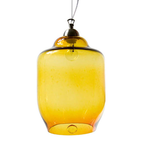 Jasmine | Bohemian Handmade | Glass Pendant Light | Honey