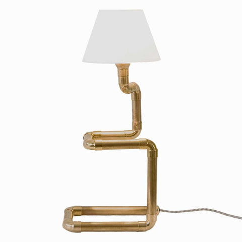 Facto Copper Pipe Table Lamp