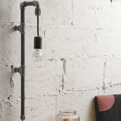 Julia wall2 |  Wall Lamp | Steel Pipe