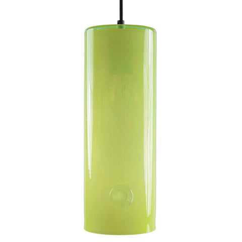 June-l | Bohemian handmade | Glass Pendant Light | bright yellow