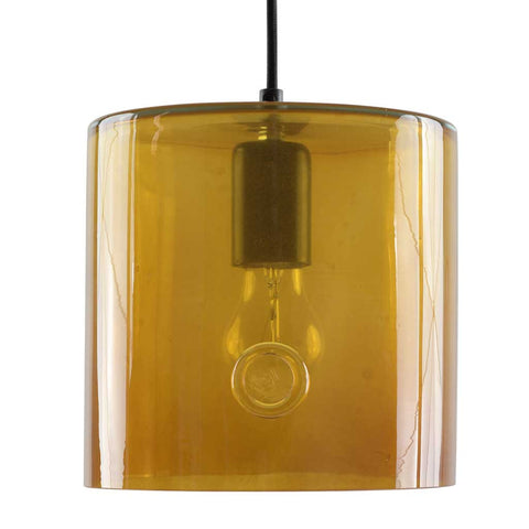 June | Bohemian handmade | Glass Pendant Light | Honey