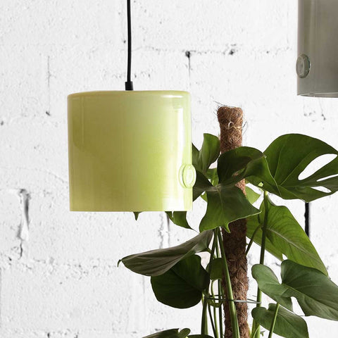 June | Bohemian handmade | Glass Pendant Light | Bright Yellow
