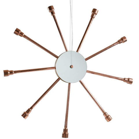 CopStar | Stellar Pendant Light | Copper Pipes | Invisible Bulbs