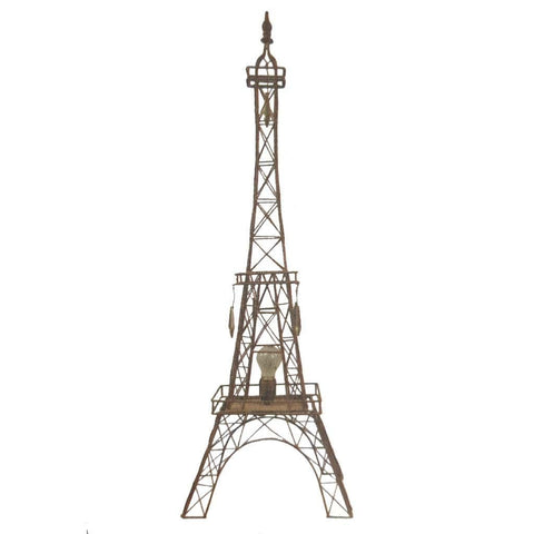 Iron Eiffel Tower Floor Lamp