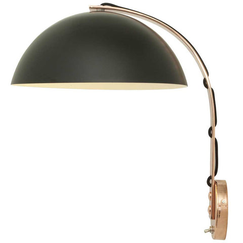 London Black and Copper Wall Light by Original BTC