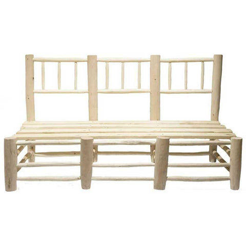 Alcor Poplar Wood Bench