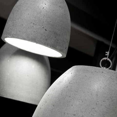 Malaga Grey Cement Pendant Light