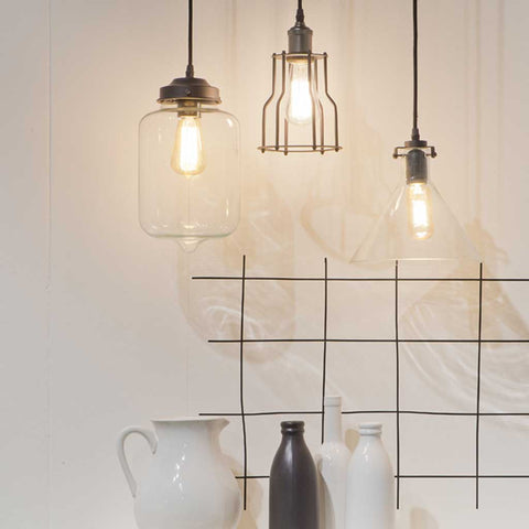 Minsk Glass Pendant Light