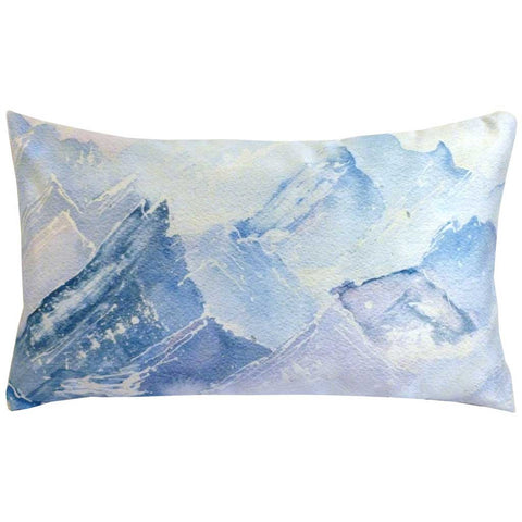Rectangular Summum Mountains Cushion